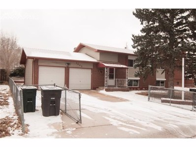 7245 Sullivan Circle, Colorado Springs, CO 80911 - MLS#: 4267564