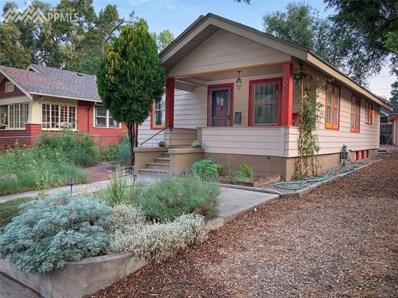 1006 E St Vrain Street, Colorado Springs, CO 80903 - MLS#: 4309918