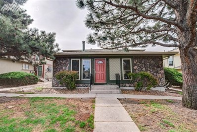 4831 Sonata Drive UNIT A, Colorado Springs, CO 80918 - MLS#: 4321779