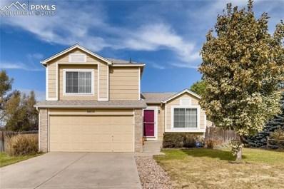 6650 Mustang Pony Way, Colorado Springs, CO 80922 - MLS#: 4405818