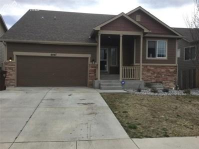 6047 San Mateo Drive, Colorado Springs, CO 80911 - MLS#: 4432831