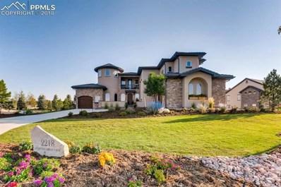 2218 Coyote Crest View, Colorado Springs, CO 80921 - MLS#: 4499233