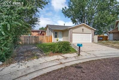 4755 Cassidy Street, Colorado Springs, CO 80911 - MLS#: 4550045