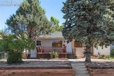 2206 W Uintah Street, Colorado Springs, CO 80904 - MLS#: 4607984
