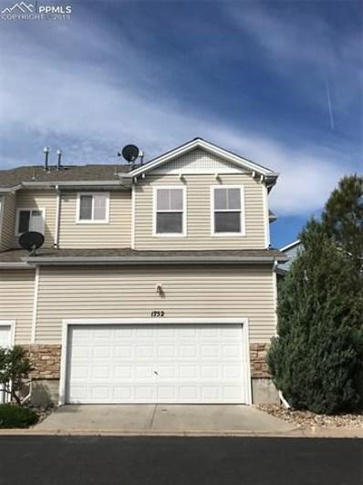 1752 Reilly Grove, Colorado Springs, CO 80951 - MLS#: 4722616