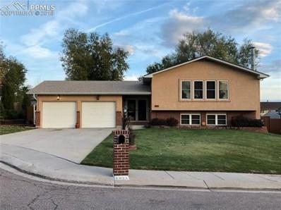 4911 Bradley Lane, Colorado Springs, CO 80911 - MLS#: 4763352