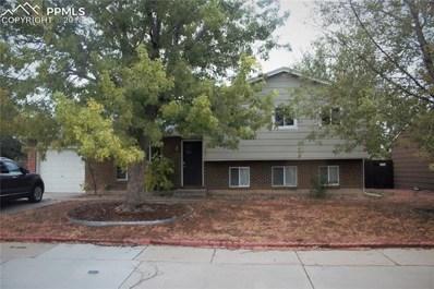 2543 E Payne Circle, Colorado Springs, CO 80916 - MLS#: 4808462