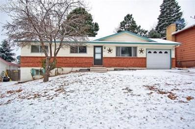 3475 W Montebello Drive, Colorado Springs, CO 80918 - MLS#: 4827626