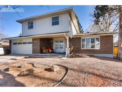4719 El Camino Drive, Colorado Springs, CO 80918 - MLS#: 4838784