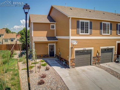 4706 Painted Sky View, Colorado Springs, CO 80916 - MLS#: 4854449