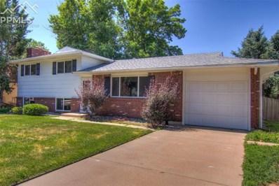 5010 Crestwood Drive, Colorado Springs, CO 80918 - MLS#: 4885055