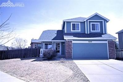 5255 Stone Fence Drive, Colorado Springs, CO 80922 - MLS#: 4986667