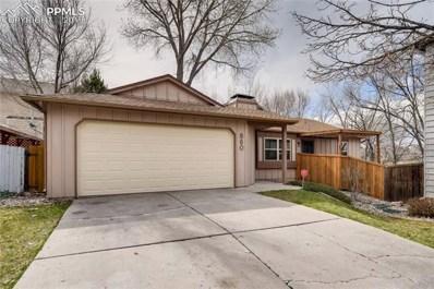 860 Swift Court, Colorado Springs, CO 80910 - MLS#: 5069610