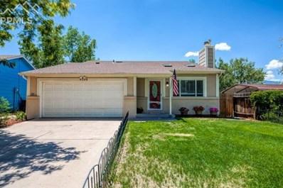 4326 Cassidy Street, Colorado Springs, CO 80911 - MLS#: 5135877