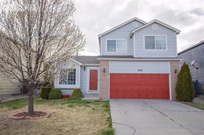 4350 Gunbarrel Drive, Colorado Springs, CO 80925 - MLS#: 5274192