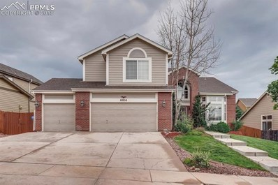 6816 Bitterroot Drive, Colorado Springs, CO 80923 - MLS#: 5312170