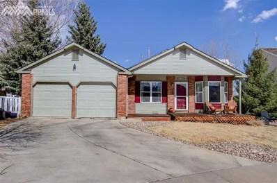 430 Ocelot Drive, Colorado Springs, CO 80919 - MLS#: 5312543