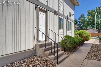 4718 Villa Circle UNIT D, Colorado Springs, CO 80918 - MLS#: 5349970