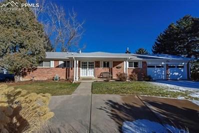 821 Orion Drive, Colorado Springs, CO 80906 - MLS#: 5361059