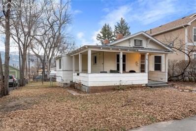 1030 N Arcadia Street, Colorado Springs, CO 80903 - MLS#: 5402437