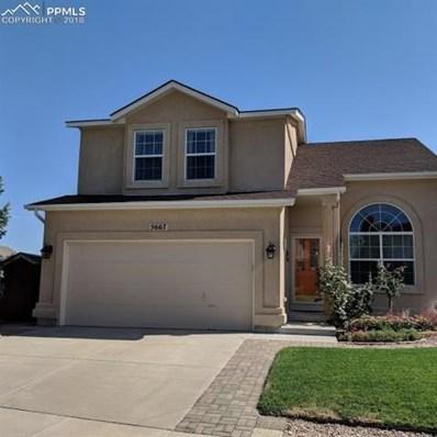 5667 Mountain Garland Drive, Colorado Springs, CO 80923 - MLS#: 5585076