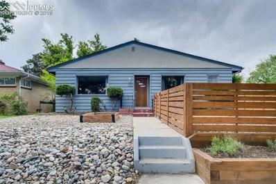 1722 E Dale Street, Colorado Springs, CO 80909 - MLS#: 5675294