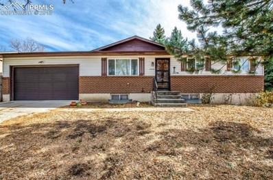4405 Meadowland Boulevard, Colorado Springs, CO 80918 - MLS#: 5744948