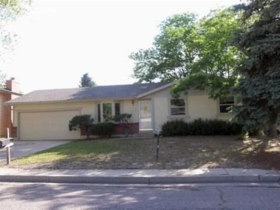 3142 Teardrop Circle, Colorado Springs, CO 80917 - MLS#: 5776974