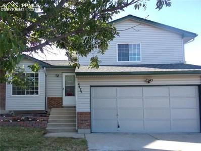 4475 Moonbeam Drive, Colorado Springs, CO 80916 - MLS#: 5787946