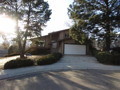 3232 Bell Mountain Drive, Colorado Springs, CO 80918 - MLS#: 5800032