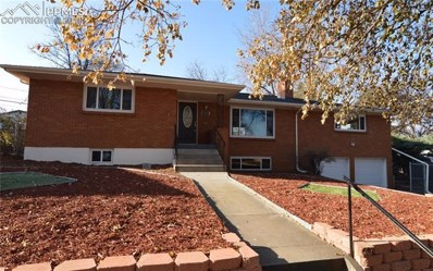 1424 Bellaire Drive, Colorado Springs, CO 80909 - MLS#: 5840695