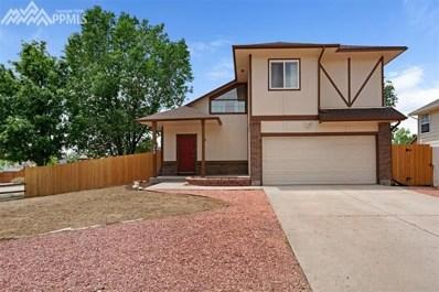 548 Lindstrom Drive, Colorado Springs, CO 80911 - MLS#: 5866946