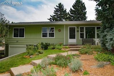 27 El Sereno Drive, Colorado Springs, CO 80906 - MLS#: 5907119