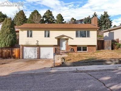 3220 Cortina Drive, Colorado Springs, CO 80918 - MLS#: 5974564