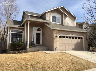 6340 Whirlwind Drive, Colorado Springs, CO 80923 - MLS#: 6081584