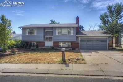 5140 Crestwood Drive, Colorado Springs, CO 80918 - MLS#: 6164405