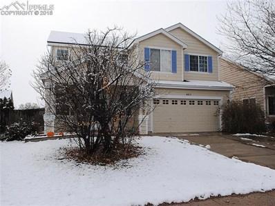 4415 E Anvil Drive, Colorado Springs, CO 80925 - MLS#: 6205983