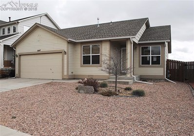 1647 Woodpark Drive, Colorado Springs, CO 80951 - MLS#: 6222823