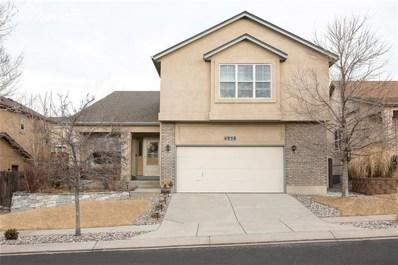 4958 Cherry Springs Drive, Colorado Springs, CO 80923 - MLS#: 6241134