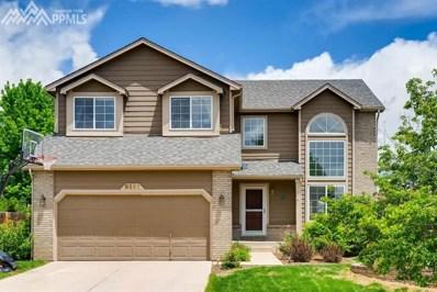 8261 Andrus Drive, Colorado Springs, CO 80920 - MLS#: 6271894