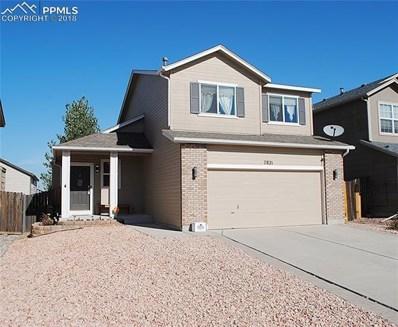 7821 Parsonage Lane, Colorado Springs, CO 80951 - MLS#: 6344962