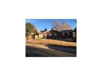 2123 Kodiak Drive, Colorado Springs, CO 80910 - MLS#: 6349074