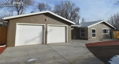 820 W Van Buren Street, Colorado Springs, CO 80907 - MLS#: 6378575