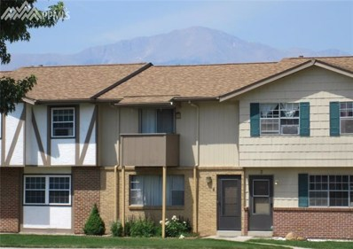 1219 Willow Bend Circle UNIT E4, Colorado Springs, CO 80918 - MLS#: 6391810
