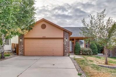 5755 Preminger Drive, Colorado Springs, CO 80911 - MLS#: 6392397