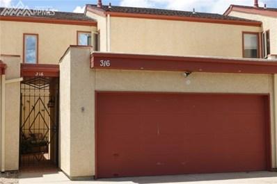 316 Mission Hill Way, Colorado Springs, CO 80921 - MLS#: 6542882