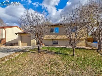 1455 Commanchero Drive, Colorado Springs, CO 80915 - MLS#: 6560453