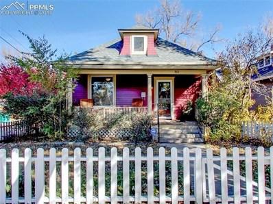 918 E Boulder Street, Colorado Springs, CO 80903 - MLS#: 6584210