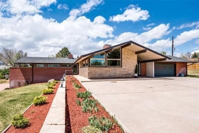 3106 Wellshire Boulevard, Colorado Springs, CO 80910 - MLS#: 6590828