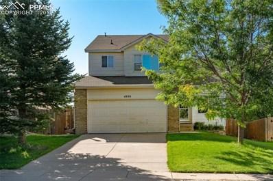 4880 Little London Drive, Colorado Springs, CO 80923 - MLS#: 6623891